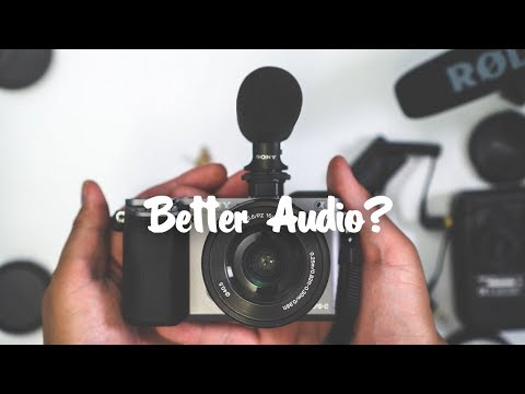 Best Shotgun Microphone for Sony a6000? - ECM-GZ1M Review (2017