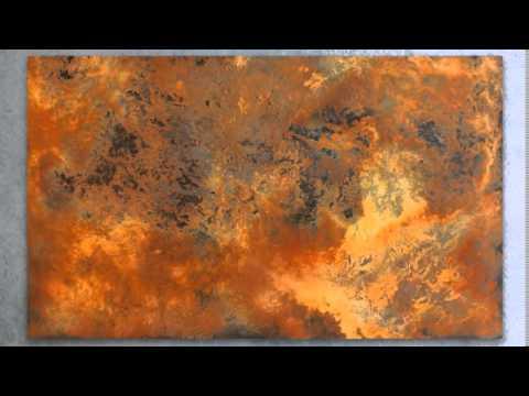 Xxl Art rust art - abstract art with real rust - xxl-art.de - youtube