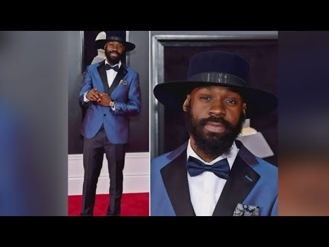 Artist rocks suit made by Edmonton designer at Grammys