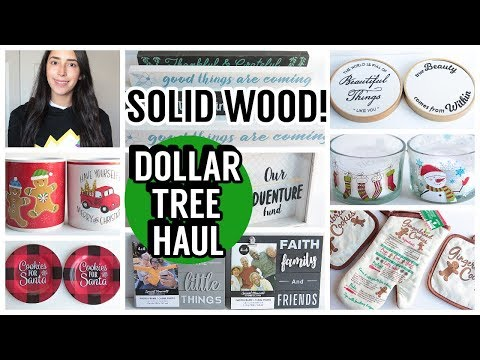DOLLAR TREE HAUL NOVEMBER 2019 NEW FINDS