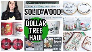 DOLLAR TREE HAUL NOVEMBER 2019 NEW FINDS