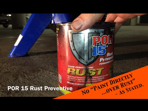 Terrible POR 15 Rust Preventive Paint Coating tested - Jeep Wrangler YJ : Ep 8