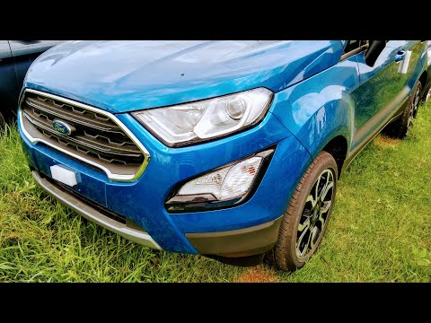 2018 New Ford EcoSport Signature Edition - First Look !!