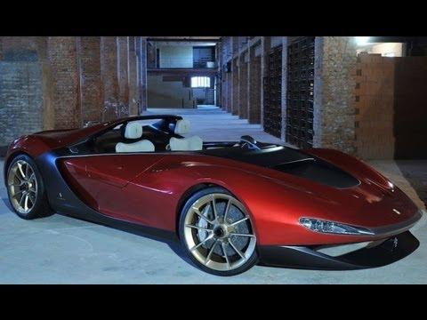 2013 Ferrari Sergio Concept At Geneva Motor Show Youtube