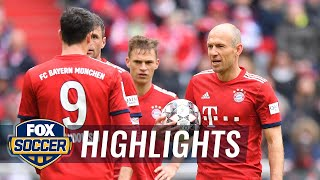 Bayern Munich vs. Hannover 96 | 2019 Bundesliga Highlights