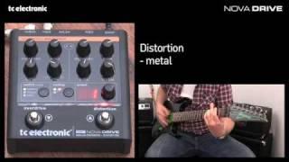TC Electronic Nova Drive overdrive/distortion pedal