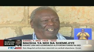 Maisha ya Mzee Moi na shemejiye Harun Bomett