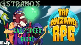 Tap Wizard RPG: Arcane Quest - How to cast spells quickly - Tap Wizard Cast Speed Guide