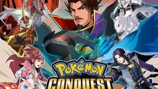 CGRundertow POKEMON CONQUEST for Nintendo DS Video Game Review