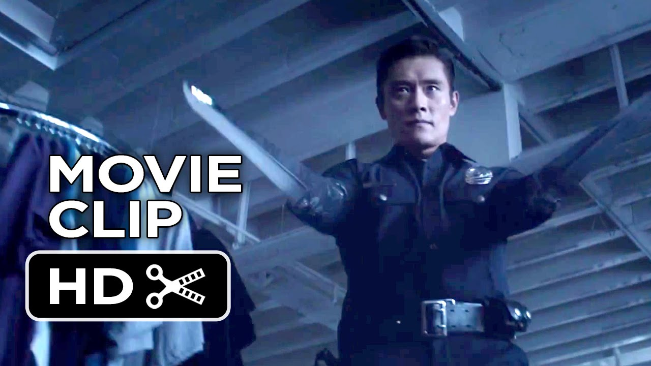 terminator genisys movie clip t 1000 attack 2015. Black Bedroom Furniture Sets. Home Design Ideas