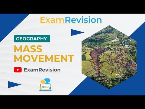 Mass Movement  - Summary