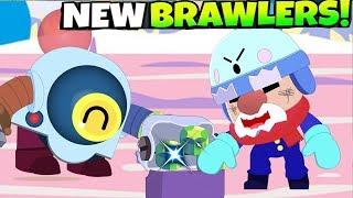 NEW BRAWLER NANI & GALE In GENE's Lamporium - Brawl Stars Animation Update New Skin 2020