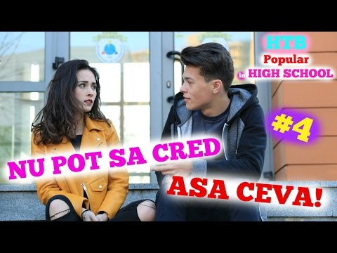 NU POT SA CRED!   HTB POPULAR IN HIGH SCHOOL   S2 EP4