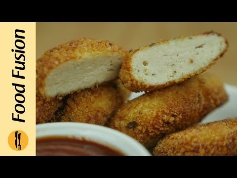Chicken Nuggets Recipe learn how to make at home - By Food Fusion