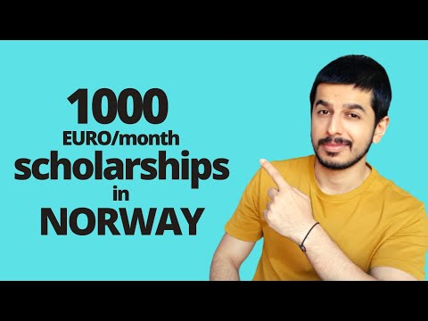 100% scholarships in Norway for international students
