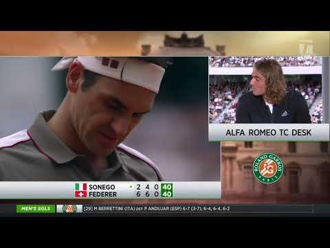 Stefanos Tsitsipas: 2019 Roland Garros First Round Win Tennis Channel Interview