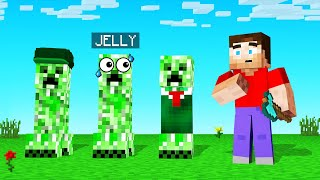 GUESS Which CREEPER Is The REAL JELLY! (Minecraft Guess Who)