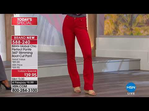 HSN | IMAN Global Chic Fashions 02.24.2018 - 09 PM