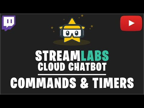 Streamlabs OBS Chatbot: Commands & Timers Tutorial (2018)