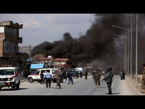 Gunmen attack military hospital near US embassy in Kabul