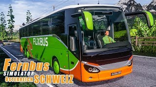 FERNBUS SIMULATOR Schweiz Österreich #75 - Auf in Richtung Wien! FBS Platinum mit SETRA ComfortClass