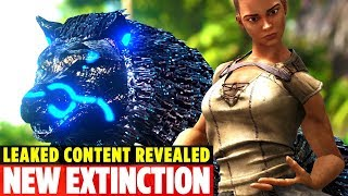 ✋🏿HAVE YOU SEEN THE RARE NEW TEK WOLF? Extinction Chronicles - Ark: Survival Evolved