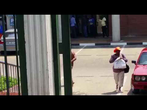 Naked man walks into Polokwane Municipality