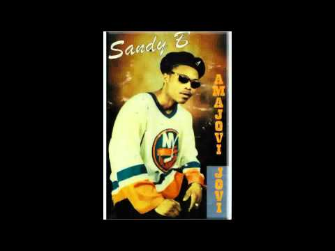 Sandy B Jones - KZN first Kwaito hit in 1995- Amajovi Jovi by Sandy B