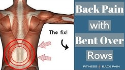 hqdefault - Bent Over Row Lower Back Pain