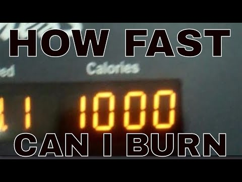 HOW FAST CAN I BURN 1000 CALORIES? Weight Loss Journey Day ...