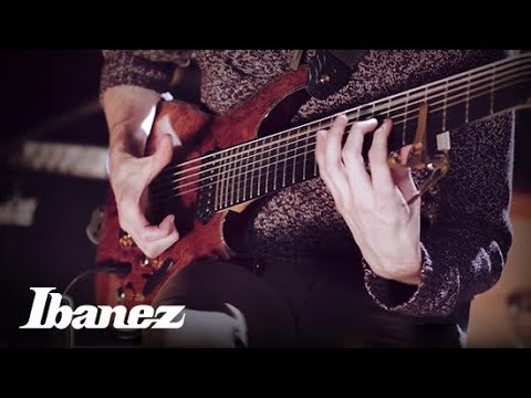 "Josh Martin of Little Tybee - ""Glitch Tapping"" on his Ibanez SIX28FDBG"