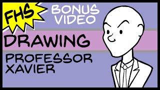 Bonus Video: Drawing Professor Xavier - Floating Hands Studios