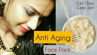 Anti Aging Face Mask to Remove Wrinkles GetnCrystal Clear Glowing Skin Spotless Skin Tone Disha