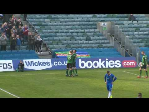 GILLINGHAM V SCUNTHORPE UNITED HIGHLIGHTS