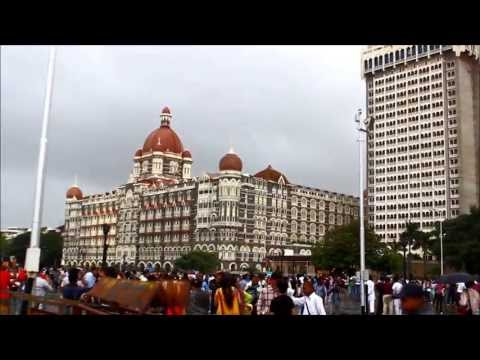 Mumbai -  Gateway of India in Rains. [HD]