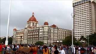 Mumbai -  Gateway of India in Rains. [HD]