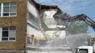 Demolition of St. George School #3