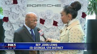 Celebrating Black History Month with Rep  John Lewis