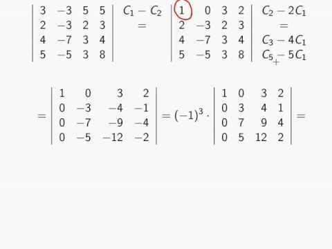 Определитель матрицы задачи с решениями решение задачи по термодинамике сосуд