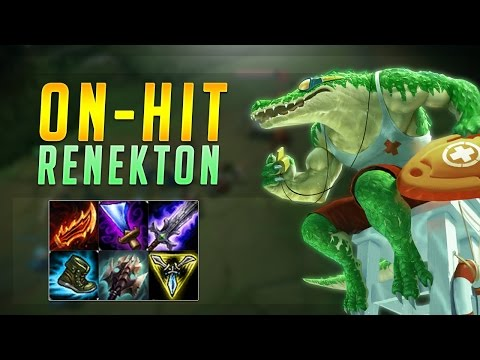 GUINSOO'S RAGEBLADE ON-HIT RENEKTON! TOO MUCH DAMAGE! - Troll Builds That Work! #6