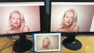 Jak se kalibrují dva monitory, aby ukazovaly stejně?