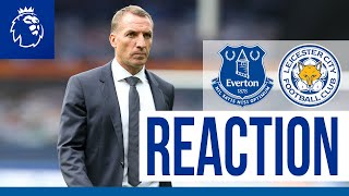 'We Need To Perform For 90 Minutes' - Brendan Rodgers | Everton 2 Leicester City 1