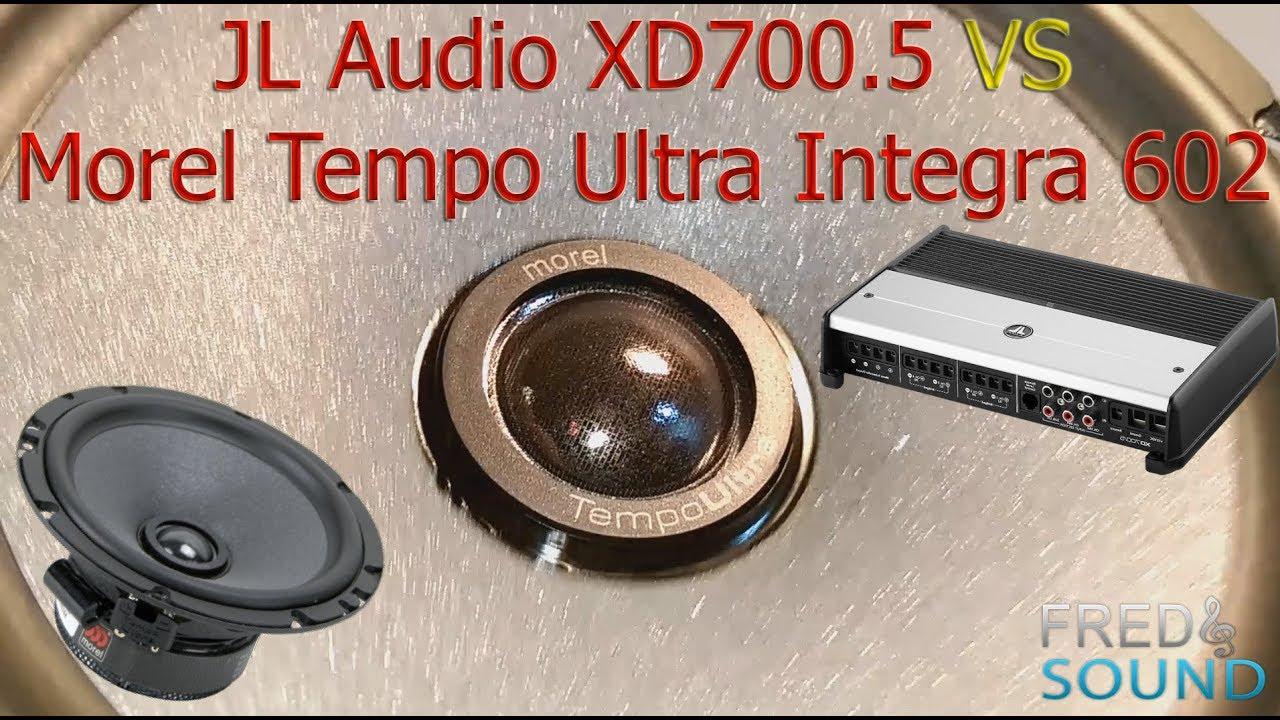JL Audio XD700 5 VS Morel Tempo Ultra Integra 602 (INT)