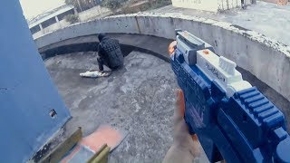 Nerf War: First Person Shooting 15 - The Fugitive