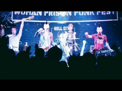HELL CITY @ Wuhan Prison Punk Fest, VOX Livehouse, 11-02-2012 (complete set)