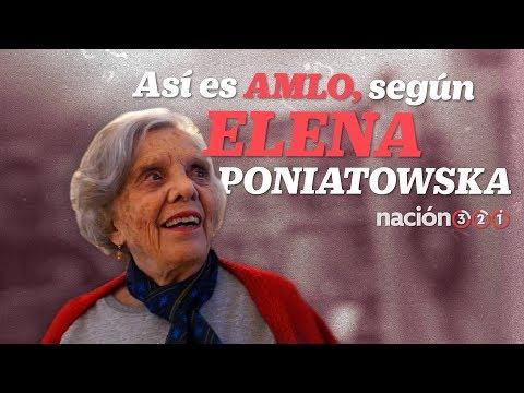 Así es AMLO, según Elena Poniatowska