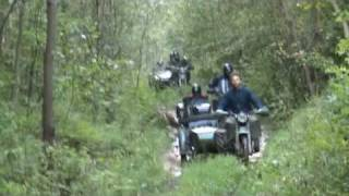 Rajd u Janka - K750, Ural, dnepr, m72, MT16, meeting in mountain