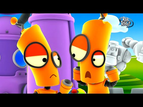 Does Orbit Have A Twin?   Rob The Robot   Toddler Learning Video
