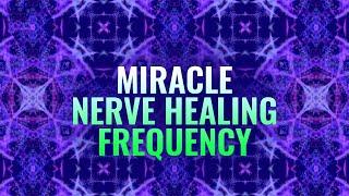 Miracle Nerve Healing Frequency: DNA Repair & Heal Nerve Damage - Binaural Beats Meditation