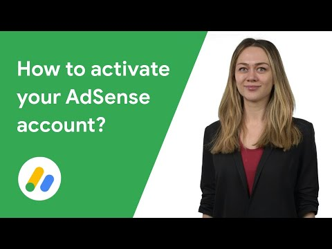 How to activate your AdSense account?
